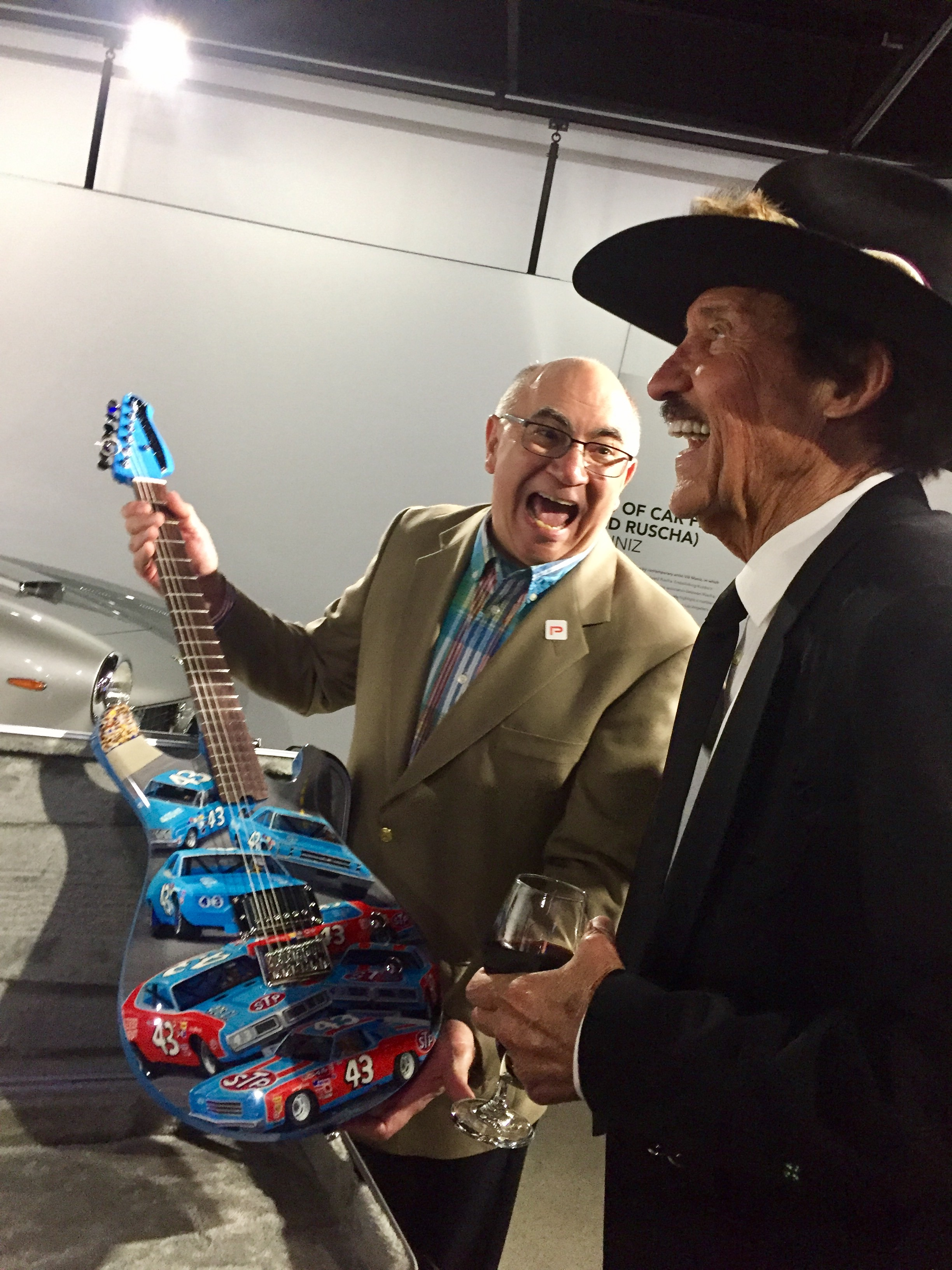 Dave with Richard Petty